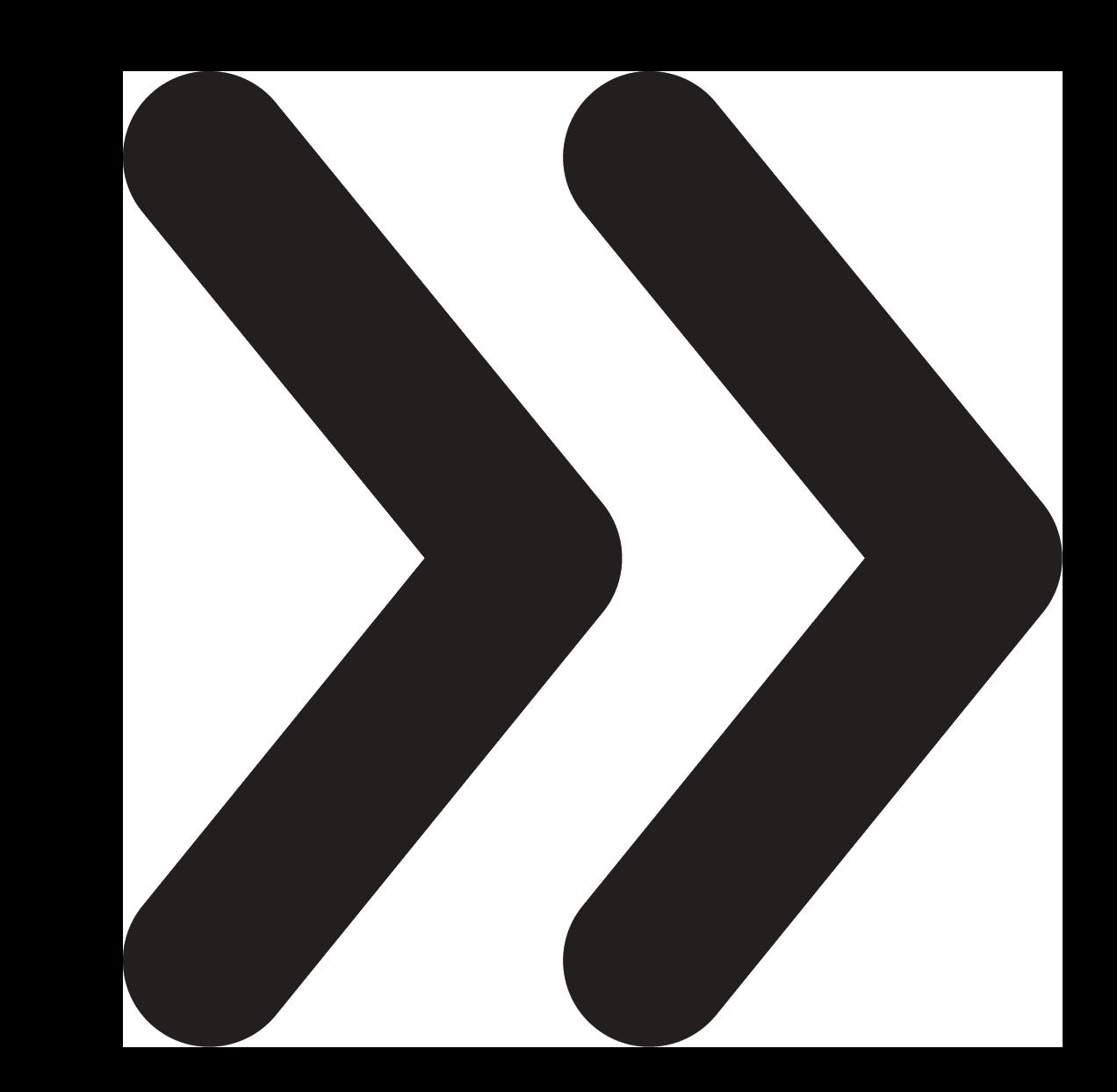 double-right-arrow-transparent